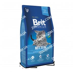 Brit Premium Cat Kitten для котят 1-12 мес