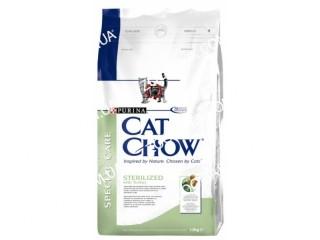 Cat Chow Special Care Sterilized - сухой корм для стерилизованных котов, 15 кг