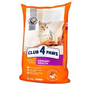 Клуб 4 лапы Премиум для котов с проблемами мочевыводящей системы 14 кг