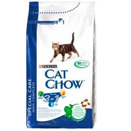 Cat Chow Special Care Feline 3 в 1 с индейкой, 15 кг