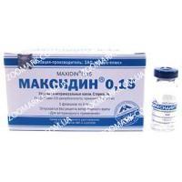 Максидин 0,15 — Капли глазные и интраназальные