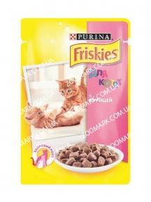 Friskies для котят с курицей 270 гр