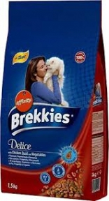 Brekkies Cat Delice Meat с мясом для котов 20 кг