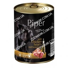 DN Piper Dog с куриным сердцем и рисом 500 гр