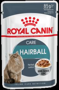 Royal Canin Hairball Care (Роял Канин Хербол Карэ)  для выведения шерсти 85 г