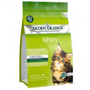 Arden Grange (Арден Грендж) сухой корм для котят курица 8 кг
