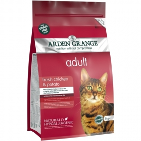 Arden Grange (Арден Грендж) сухой корм беззерновой для кошек курица картофель