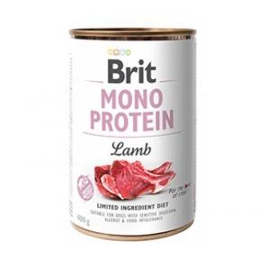 Brit Mono Protein Dog с ягнёноком 400г