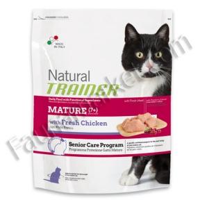 Trainer Natural MATURE With Fresh Chicken для зрелых кошек в возрасте от 7 лет со свежей курицей