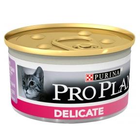 Про План Консервы для котов с чувствитвительным пищеварением МУСС индейка 85 г