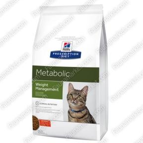 Hills PD Feline Metabolic для снижения веса у кошек