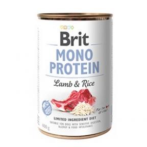 Brit Mono Protein Dog с ягнёноком и тёмным рисом 400г