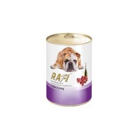 Dolina Noteci RafiDog консервы для собак паштет из дичи 400г