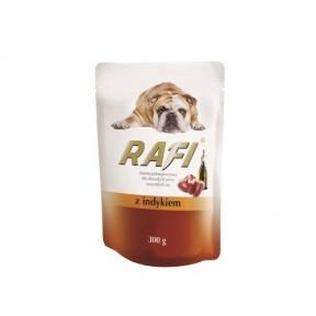 Dolina Noteci RafiDog Консерва для собак паштет из мяса индейки 300гр