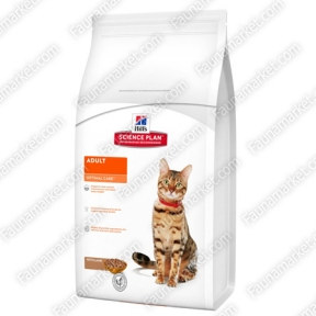 Hills SP Feline Adult Optimal Care с ягненком