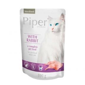 Dolina Noteci Papir cat с кроликом для кошек Пауч 100 г