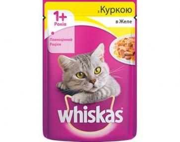 Вискас консервы для кошек Курица в Желе 100 г