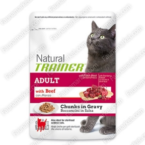Trainer Natural ADULT With Beef для кошек с говядиной
