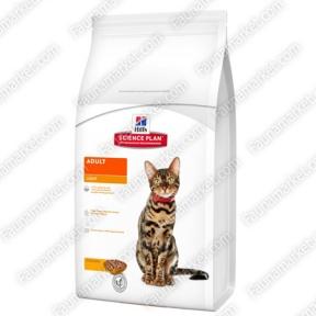 Hills SP Feline Adult Light с курицей для поддержания идеального веса взрослой кошки 300г