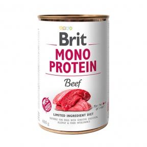 Brit Mono Protein Dog с говядиной 400г