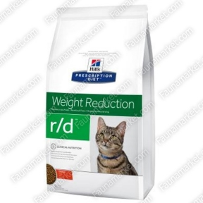 Hills PD Feline R/D для поддержания веса кошек страдающих ожирением