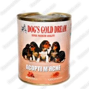 DOG'S GOLD DREAM мясное ассорти 830г