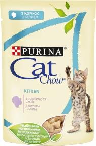 CAT CHOW с индейкой 85г