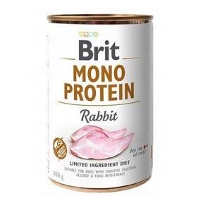 Brit Mono Protein Dog с кроликом 400г