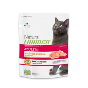 TRAINER NATURAL ADULT для взрослых кошек с курицей