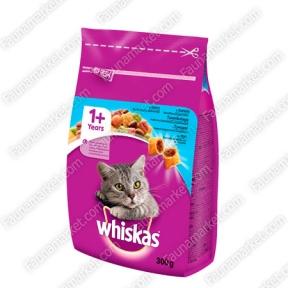 Whiskas сухой корм для кошек с тунцом 300 г