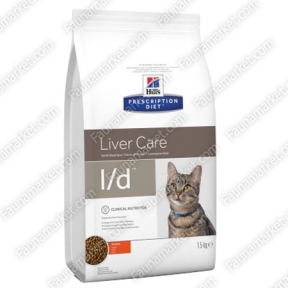 Hills PD Feline L/D при нарушении или снижении функций печени у кошек 1,5кг