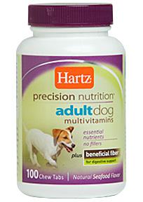 Мультивитаминный комплекс для взрослых собак Hartz 100тб