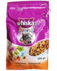 Whiskas корм для котят с курицей 300г