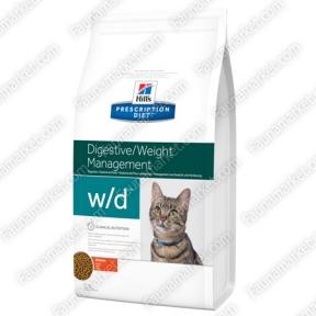 Hills PD Feline W/D для поддержания веса кошек