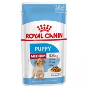 Royal Canin WET MEDIUM PUPPY для щенков средних пород 140г