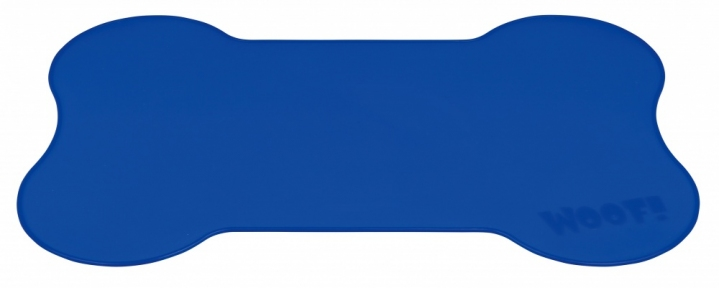Коврик под миску Косточка силикон, Трикси 24562
