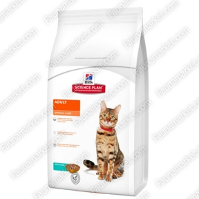 Hills SP Feline Adult Optimal Care с тунцом