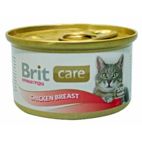 Brit Care Cat с куриной грудкой 80г