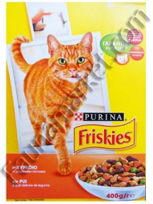 Friskies Chicken с курицей 400г