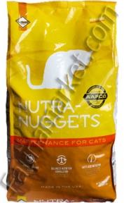 Nutra Nuggets Adult Cat Maintenance (желтая) для взрослых кошек 3кг