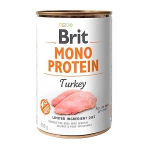 Brit Mono Protein Dog с индейкой 400г