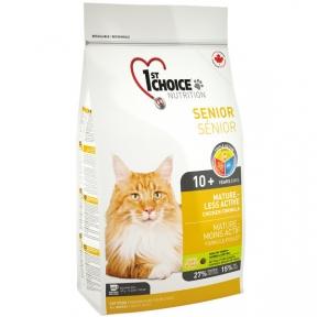 1st Choice Senior Mature Less Aktiv для пожилых и малоактивных кошек