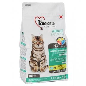 1st Choice Weight Control корм для кошек склонных к полноте