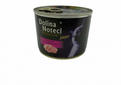 Dolina Noteci Premium консервы Kitten 185гр с индейкой в соусе 383819/303817