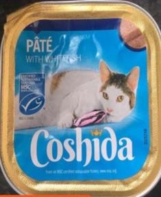 Паштет для котов Сoshida с рыбой 100 г Европа 223367