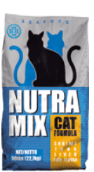 Нутра Микс корм для кошек 9.07кг Сиафуд США