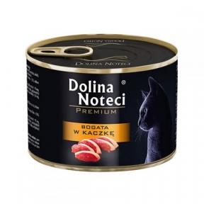 Dolina Noteci Premium консервы для кошек 185гр мясные кусочки с уткой в соусе 383796/303794