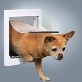 3877 Дверца для собаки 2 позиции XS-S 25*29см 21,8-22,7 см Трикси