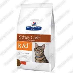 Hills PD Feline K/D при хронических заболеваниях почек и сердца 5кг