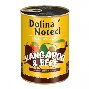 Dolina Noteci Premium Superfood консервы для собак 800г кенгуру и говядина 393672/303671